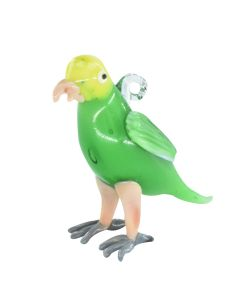 Amazon Parrot Glass Ornament