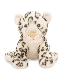 12'' Plush Snow Leopard