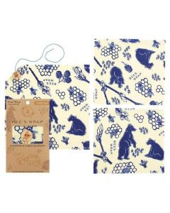 Lunch Pack in Bees + Bears Print