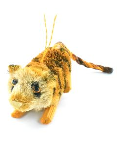 ''Save The Tiger'' Bristle Ornament