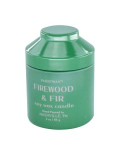 Firewood and Fir Candle