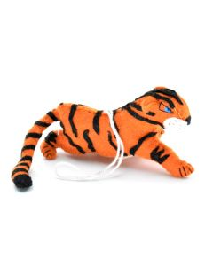 Tiger Felt Ornament