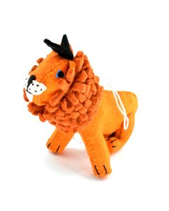 Lion Felt Ornament