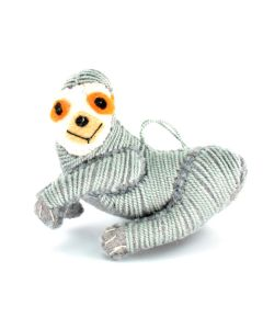 Sloth Felt Ornament