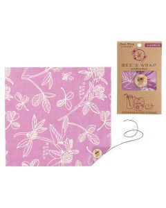 Sandwich Wrap in Purple Clover Print