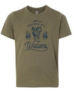 Youth ''Raised by Wolves'' Tee