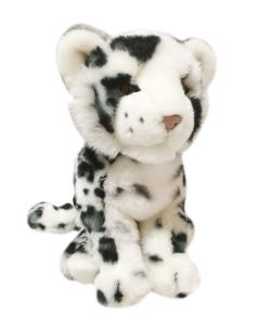 "14"" Plush Snow Leopard"