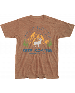 Adult Brown ''Keep Roaming'' Tee